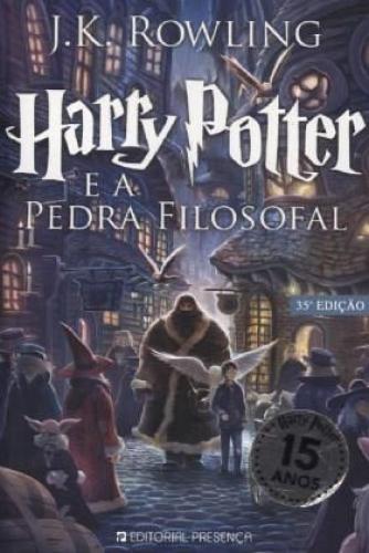 Harry Potter e a Pedra Filosofal / Harry Potter, portugiesische Ausgabe Bd.1 NEU