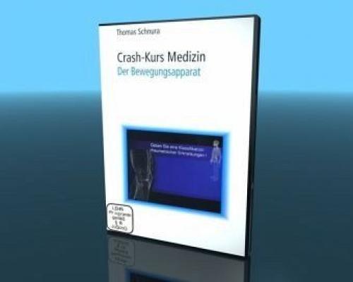 Crash-Kurs Medizin, Der Bewegungsapparat, 1 DVD (Film) NEU