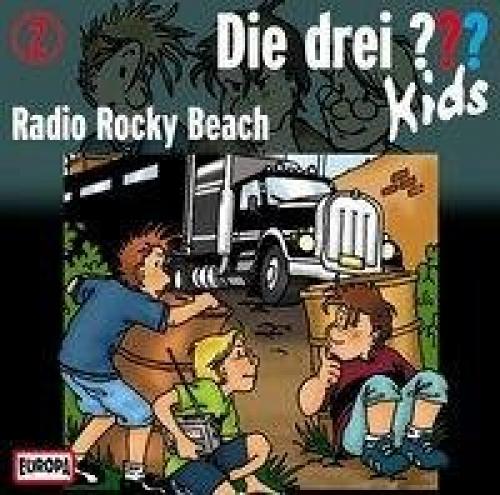 Radio Rocky Beach / Die drei Fragezeichen-Kids Bd.2 (1 Audio-CD) (Hörbuch) NEU