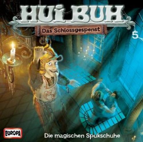 Die magischen Spukschuhe, 1 Audio-CD / Hui Buh, das Schlossgespenst, neue Welt,