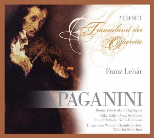 Paganini von Schock/Schlemm/Schmidt-Boelke (Musik) NEU