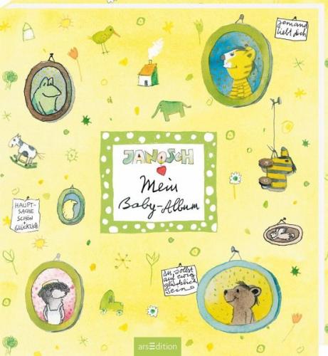 Mein Baby-Album von Illustr. v. Janosch (Buch) NEU
