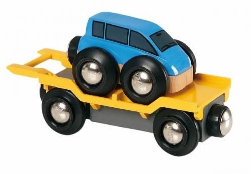 BRIO 33577 - Autotransporter mit Rampe (Spielware) NEU