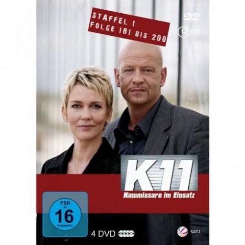 K11 Kommissare im Einsatz Staffel 1 Folge 181 bis 200 DVD-Box (Film) NEU