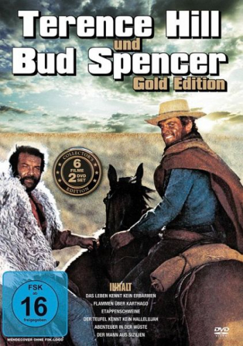 Terence Hill & Bud Spencer Gold Edition (2 Discs) (Film) NEU