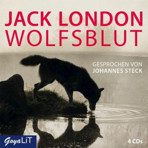 Wolfsblut, 4 Audio-CDs (Hörbuch) NEU