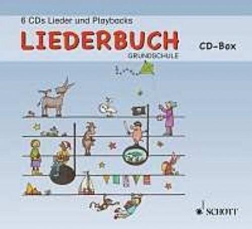 Lehrer-CD-Box, 6 Audio-CDs / Liederbuch Grundschule (Hörbuch) NEU
