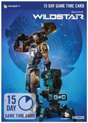 Wildstar Time Cards - 15 Tage Game Time Card (Software) NEU