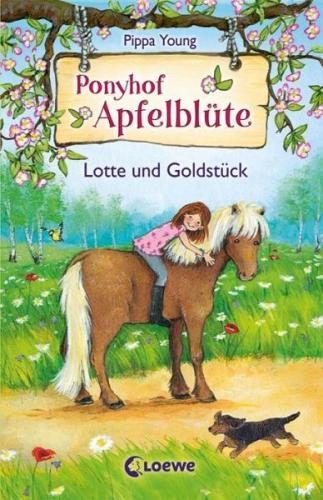 Lotte und Goldstück / Ponyhof Apfelblüte Bd.3 von Pippa Young (Buch) NEU