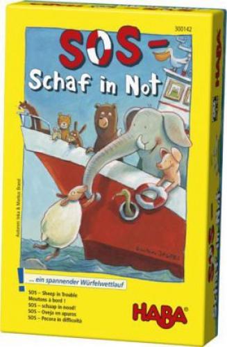 SOS - Schaf in Not (Kinderspiel) (Spielware) NEU