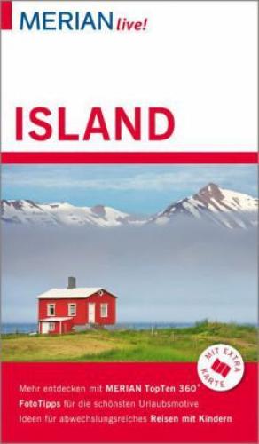 MERIAN live! Reiseführer Island von Dörte Saße (Buch) NEU