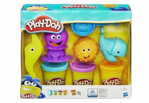 Hasbro B1378EU5 - Play Doh, Unterwasser Knetwelt, Knete (Spielware) NEU