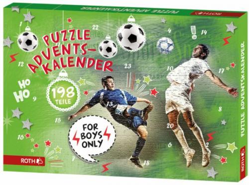 "Puzzle-Adventskalender ""For Boys"" (Spielware) NEU"