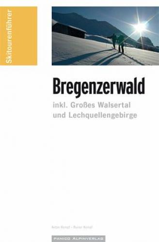 """Skitourenführer """"Bregenzerwald"""" von Anton Kempf; Rainer Kempf (Buch) NEU"""
