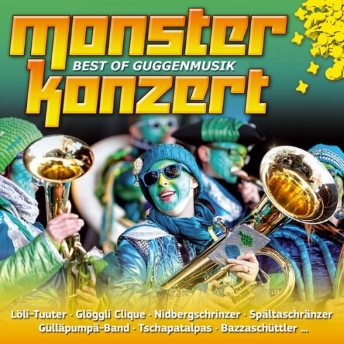 Monsterkonzert-Best Of Guggenmusik von Various (Musik) NEU