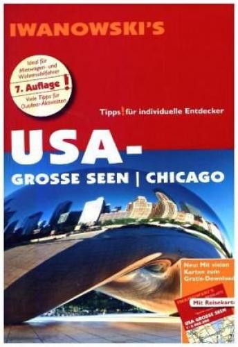 USA-Grosse-Seen-Chicago-Reisefuehrer-von-Iwanowski-Buch-NEU