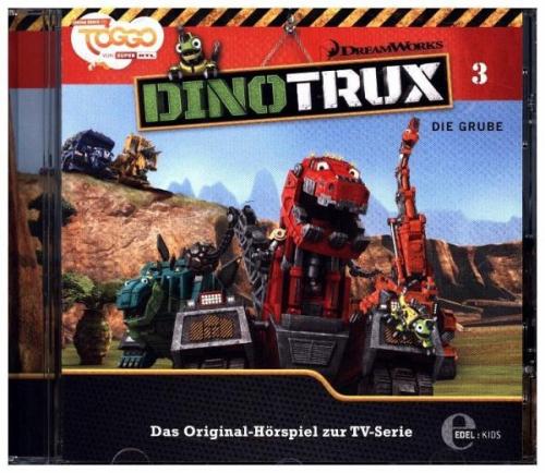 Dinotrux - Die Grube, 1 Audio-CD (Hörbuch) NEU