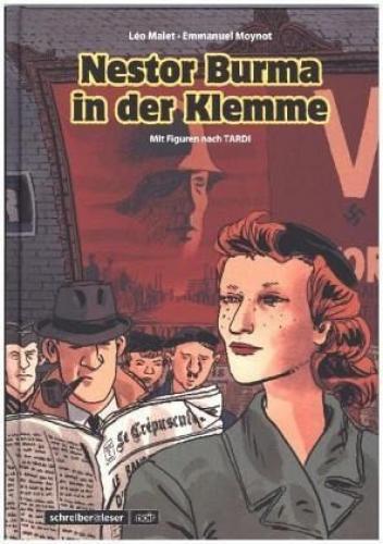Nestor-Burma-6-In-der-Klemme-von-Leo-Malet-Buch-NEU