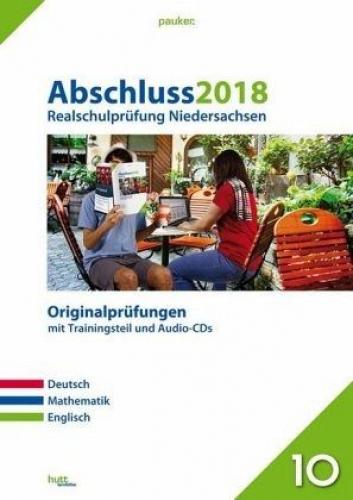 Abschluss 2018 - Realschulprüfung Niedersachsen, m. CD-Audios (Schulbuch) NEU