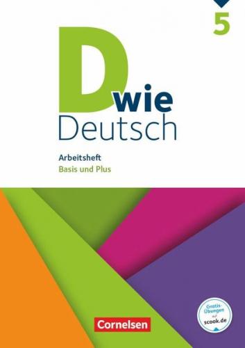 D wie Deutsch - Zu allen Ausgaben 5. Schuljahr - Arbeitsheft mit Lösungen NEU