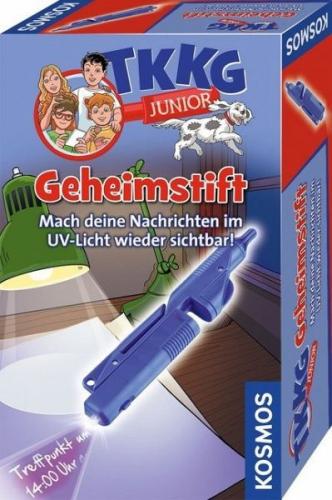 KOSMOS 654535 - TKKG Junior, Geheimstift, Detektivspielzeug, Detektiv Ausrüstung